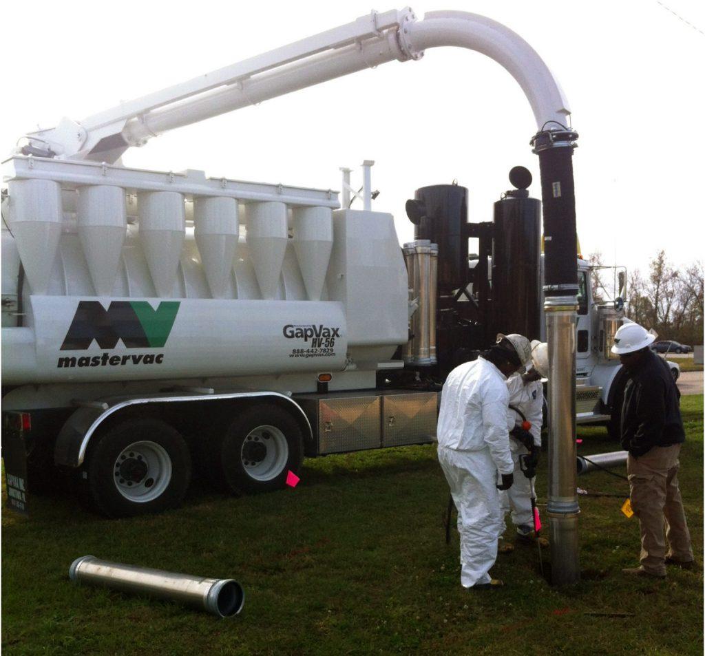 Hydro-excavation service