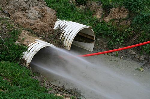 hydro-blasting