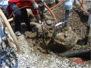 Hydro Excavating Around Underground Piping
